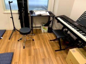 演奏スペース