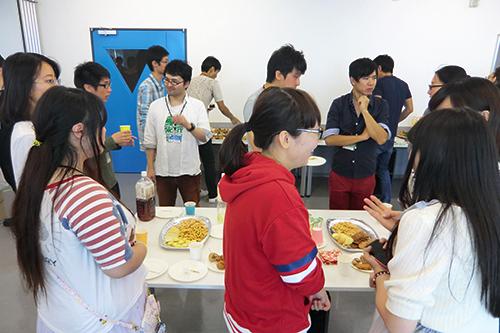 20151003留学生交流会歓談①