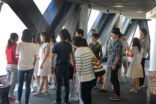 20151003留学生交流会校舎見学①